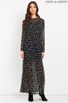 Anita & Green Printed Maxi Dress