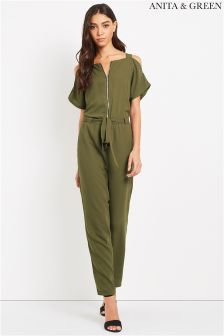Anita & Green Cold Shoulder Jumpsuit