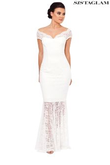 Sistaglam Lace Maxi Dress