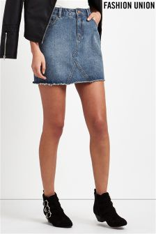 Denim Skirts For Women | Long & Short Denim Skirts | Next UK