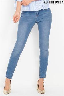 Fashion Union Push Up Skinny Jeans