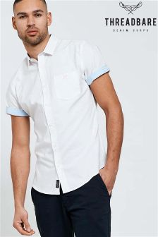 Threadbare Short Sleeve Oxford Shirt