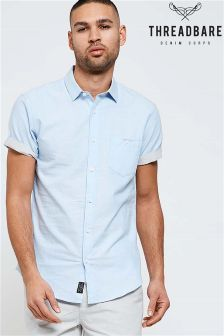 Threadbare Short Sleeve Cotton Shirt