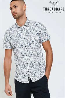 Threadbare Short Sleeve Printed Shirt