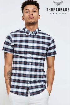 Threadbare Short Sleeve Check Shirt