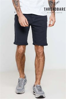 Threadbare Stretch Slub Twill Denim Shorts