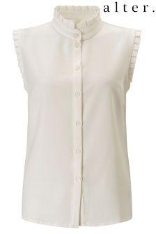 Alter Frill Detail Sleeveless Shirt