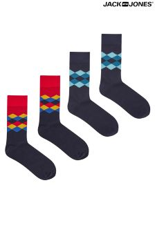 Jack & Jones Four Pack Of Socks