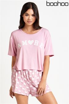 Boohoo Amore Pyjama Set
