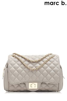 Marc B Quilted Knightsbridge Cross Body Bag