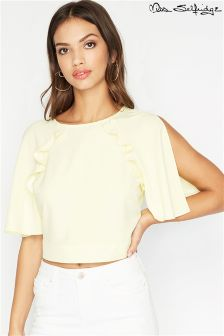 Miss Selfridge Cold Shoulder Top