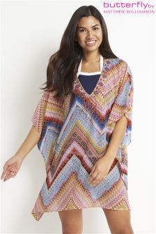 Butterfly By Matthew Williamson Aztec Zigzag Kaftan