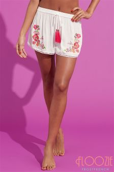 Floozie Embroidered Shorts