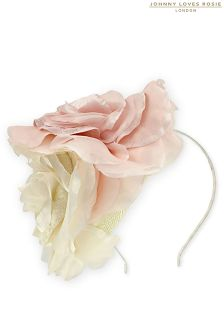 Johnny Loves Rosie Florrie Floral Fascinator