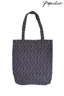 Paperchase Raindrops Foldaway Bag