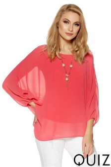 Quiz Necklace Top