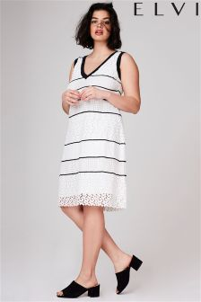 Elvi Lace Midi Dress