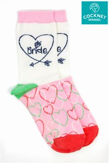 Cockney Spaniel Bride Socks