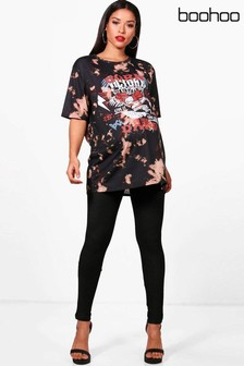 Boohoo Maternity Over The Bump Leggings