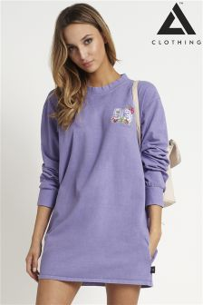 Adolescent Long Sleeve Tee Dress