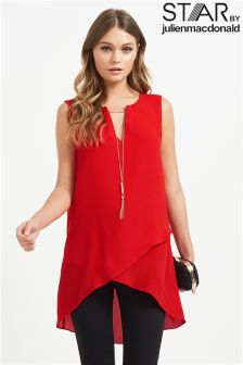 Star By Julien Macdonald Cold Shoulder Blouse