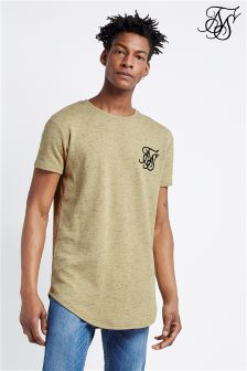 Siksilk Stray Neps Curved Hem Tee