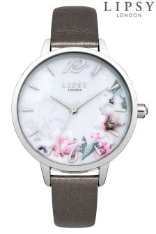 Lipsy Floral Dial Watch