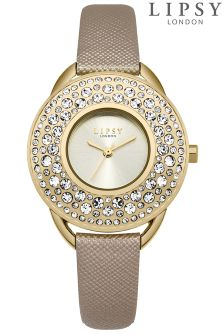 Lipsy Diamanté Face Watch