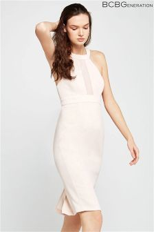 BCBGeneration Chiffon Contrast Dress