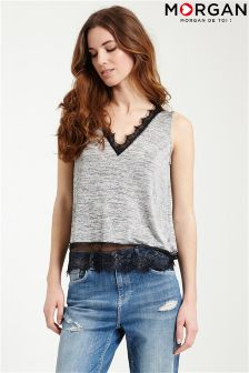 Morgan V neck Vest Top