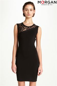Morgan Lace Bodycon Dress