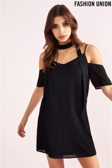 Fashion Union Choker Dress