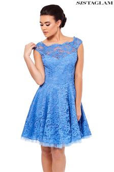 Sistaglam Lace Mini Dress