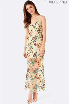 Forever New Embroidered Maxi Dress
