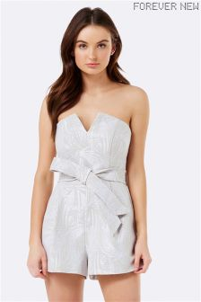 Forever New Notch Front Playsuit