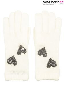 Alice Hannah Heart Gloves
