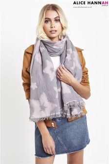 Alice Hannah Star Design Scarf