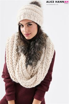 Alice Hannah Chunky Snood