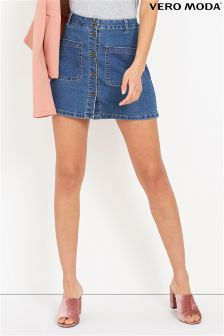 Vero Moda Mini Denim Skirt