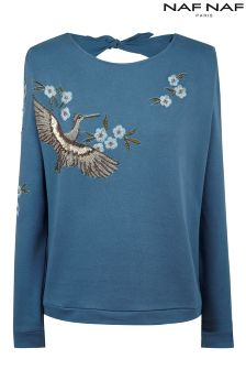 Naf Naf Embroidered Jumper