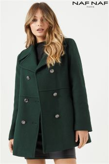 Naf Naf Wool Coat