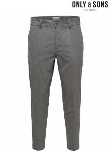 Only & Sons Tailored Cropped Chinos