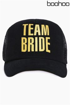 Boohoo Team Bride Baseball Cap