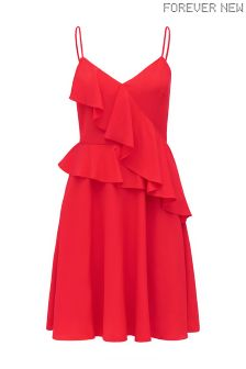 Forever New Ruffle Front Dress