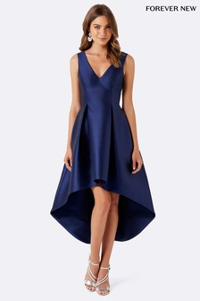 Forever New Sleeveless Satin Occasion Dress