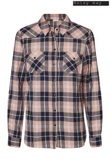 Noisy May Long Sleeve Check Shirt