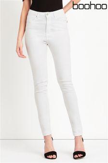 Boohoo Super Highwaisted Skinny Jeans