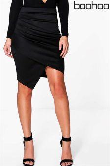 Boohoo Asymmetric Skirt