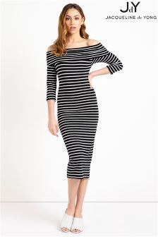 JDY 3/4 Off Shoulder Jersey Dress