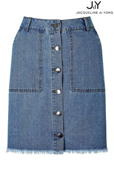 JDY A line Denim Skirt